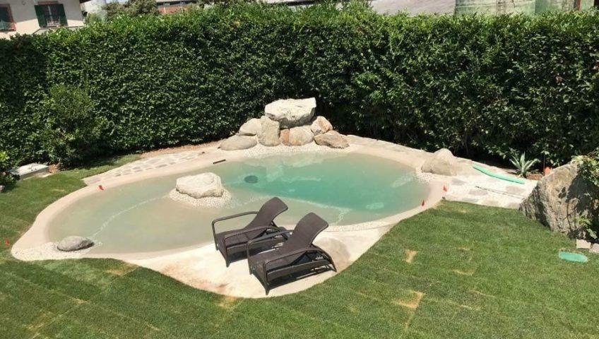 idee arredo giardino con piscina