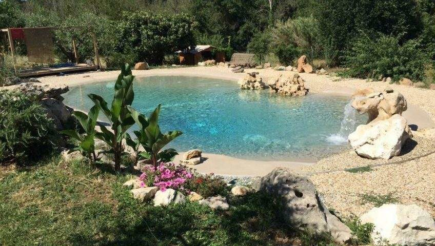 piscine interrate con spiaggia