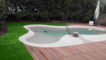 piscina interrata da giardino chiavi in mano