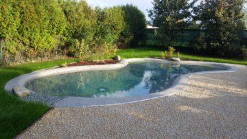 piscine da giardino in pietra naturale