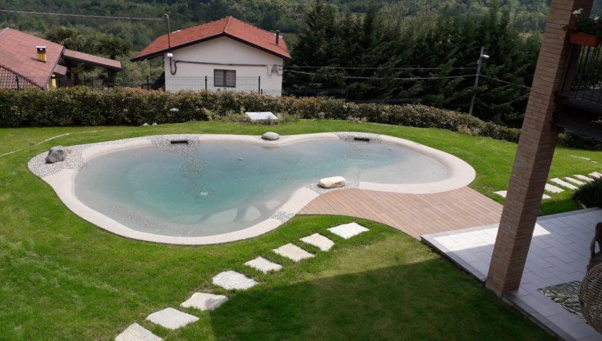 piscina naturale Biodesign Torino