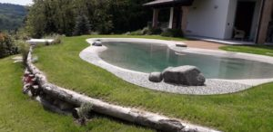 piscina interrata da giardino