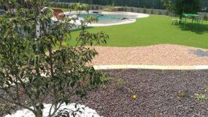 realizzazione giardini con piscina Torino
