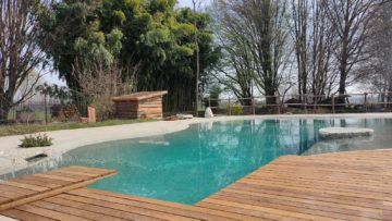 pulizia piscine da giardino Biodesign