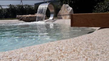 come personalizzare la piscina interrata da giardino